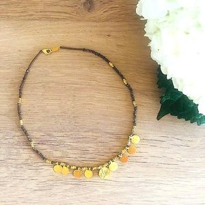 Chan Luu Beaded Coin Necklace